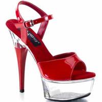 Bilek Bağlamalı Platform Topuk Ayakkabı